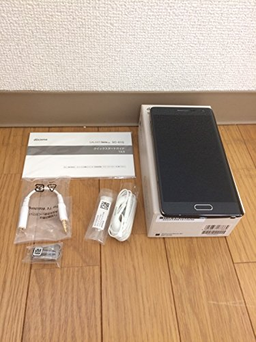 Samsung GALAXY Note Edge チャコールブラック SC-01G