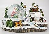 Christmas Concepts® 29cm Navidad Decoración de Navidad con Navidad Snow Globe +...