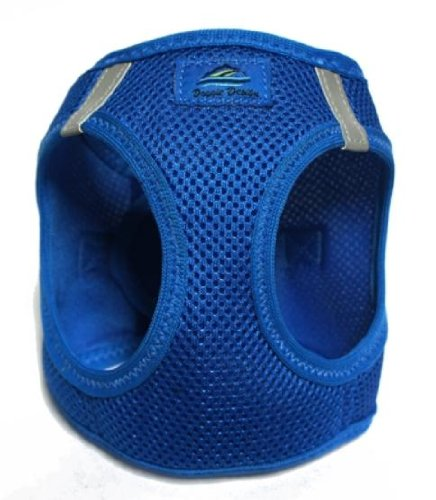 American River Ultra Choke-free Harness (Royal Blue, Large (Chest 19-21 Weight 16-25 Lbs)) by American River