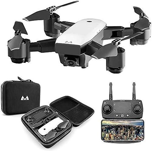 LOLOP Faltbare Drohne 1080P WiFi GPS Echtzeitübertragung Luftdruck Konstante Vierachsen-Flugzeuge