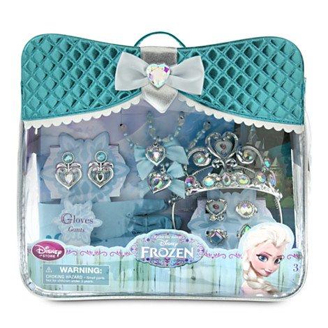 Ensemble d'accessoires Elsa de La Reine des Neiges