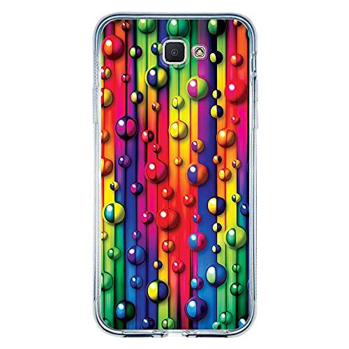 Capa Personalizada Samsung Galaxy J5 Prime - Bolhas - TX18