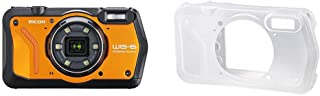 RICOH WG-6 オレンジ 本格防水カメラ 20メートル防水 耐衝撃 防塵 耐寒 高画質2000万画素 4K動画対応 高性能GPS内蔵 水中専用マーメードモード搭載 高性能GPS・電子コンパス内蔵 仕事に使える「CALSモード」搭載+RIC...