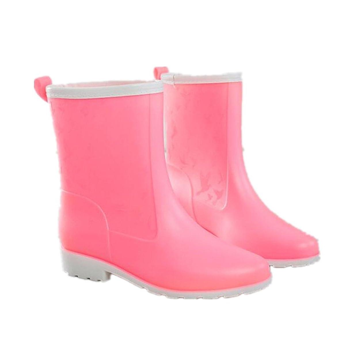 降雨同じ愛撫[ノーブランド品] 靴 雨 雨靴 長靴 シューズ レインシューズ ブーツ レインブーツ ロングブーツ レディース