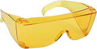 Wrap Around Sunglasses, Perfect for Added Sun Protection, Yellow