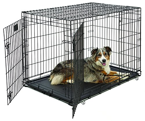 Large Dog Crate | MidWest Life Stages Double Door...