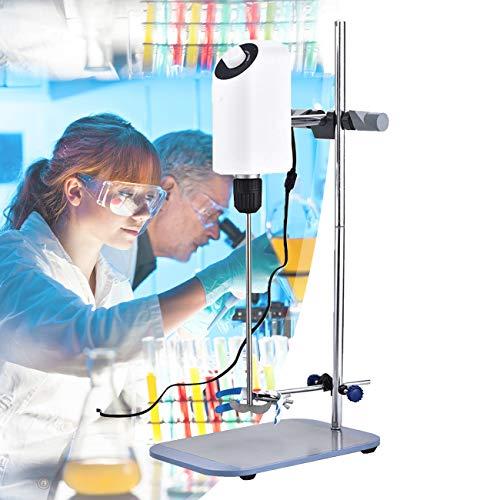 ZhiLianZhao Mezclador de Precisión, Agitador Eléctrico de Laboratorio, con Velocidad Ajustable, para Experimentos Medicina Química Bioquímica