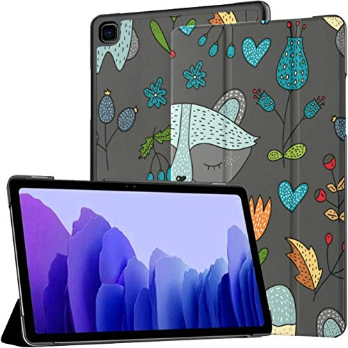 Case For Samsung Galaxy Tab A7 10.4 Inch Tablet 2020(sm-t500/t505/t507), Forest Cute Color Multiple Angle Stand Cover With Auto Wake/sleep