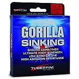 Tubertini Filo da Pesca Gorilla Sinking 0.18 mm 350 m Affondante Ideale per Tutte Le Tecniche di...