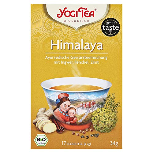 Yogi Tea Himalaya Bio Filterbeutel