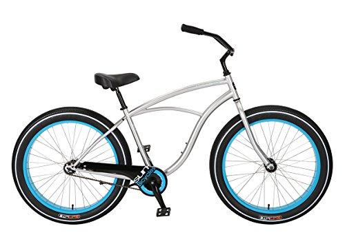 Bicicleta Sun Baja Cruz Mens Plata CB