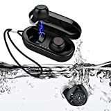 Best Bluetooth Stereo Earbuds Sports - HIFEER Q65 Wireless Earbuds Bluetooth 5.0 Waterproof IPX7 Review