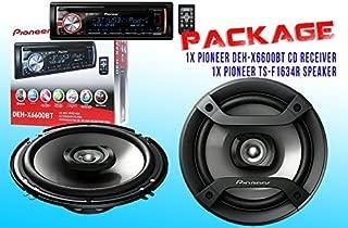 PACKAGE ! Pioneer DEH-X6600BT CD-Receiver + Pioneer TS-F1634R Car Speakers