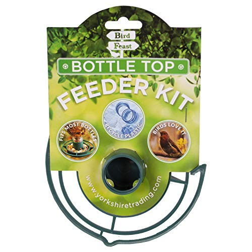 Yorkshire Trading Bird Feast Recycled Plastic Bottle Top Feeder Kit Fits...