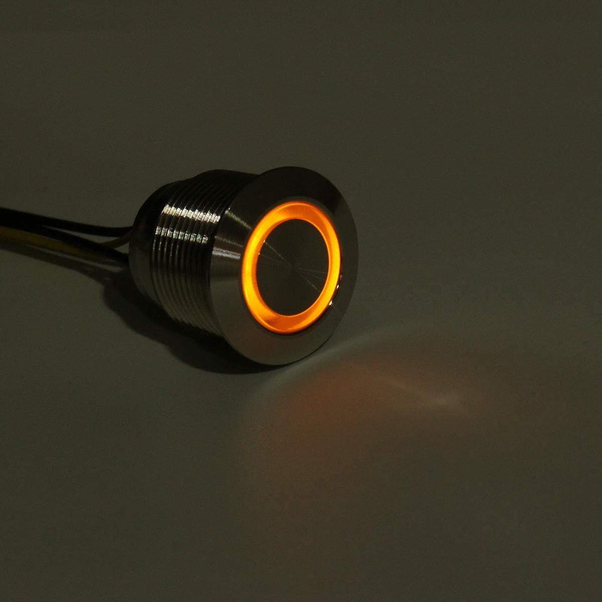 NLXTXQC Car 12V 19mm LED Push Button Switch Sacramento Mall Dash Momentary Max 88% OFF Panel