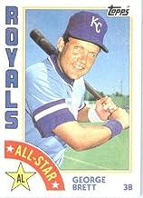 1984 Topps #399 George Brett All-Star Kansas City Royals Baseball Card