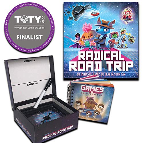 Barry & Jason Games & Entertainment | Dr. Biscuits' Radical Road Trip | 60 Fun Activities for Kids to Play in The Car | Family-Friendly & Entertaining for Long Drives | 2019 Game of The Year Finalist