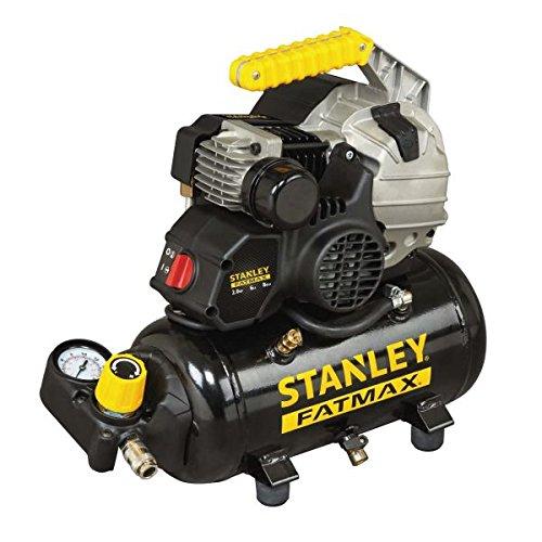 Compresor de aire portátil lubricado Stanley HY 227/8 / 6E - 6 litros - 2 hp - 8 bar