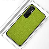 LISUONG MZYD AYDD pour xiao-mi Note 10 Lite Case Antichoc (Color : Green)