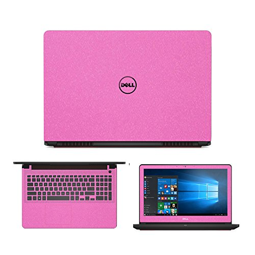 """Sparkling Pink Skin Decal wrap Skin Case for Dell Inspiron 15 7559 15.6"""" Laptop"""