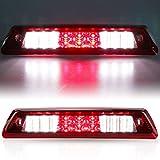 For 2009-2014 Ford F150 F-150 3rd Third Brake Light Cargo Light LED High Mount Lamp (Red)