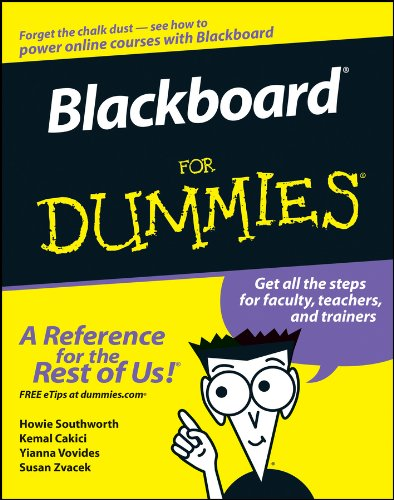Compare Textbook Prices for Blackboard For Dummies 1 Edition ISBN 9780471798323 by Southworth, Howie,Cakici, Kemal,Vovides, Yianna,Zvacek, Susan