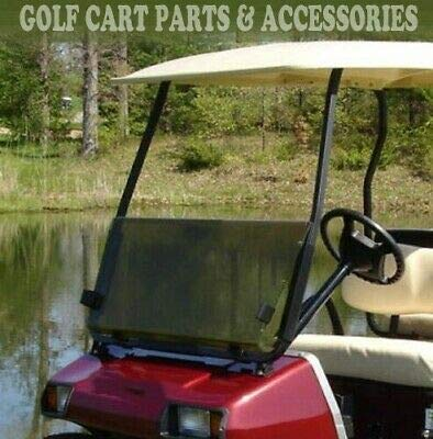 Affordable Tinted Windshield for Club Car DS 2000.5 -UP Golf Cart Folding Acrylic