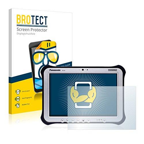 BROTECT Schutzfolie kompatibel mit Panasonic Toughpad FZ-G1 (2 Stück) klare Bildschirmschutz-Folie