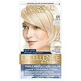 L'Oreal Paris Excellence Creme Haircolor, Extra Light Ash Blonde [01] (Cooler) 1 ea (Pack of 3)