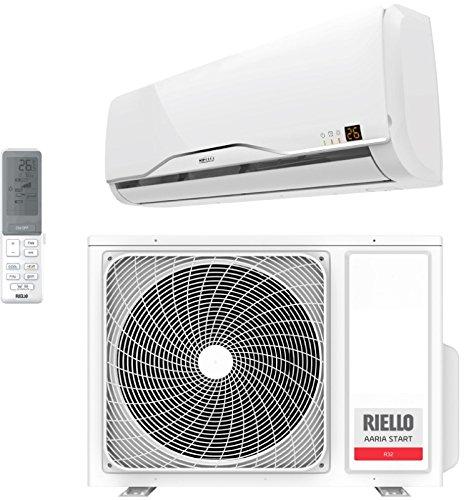 Climatizzatore Condizionatore Riello 9000 btu AARIA START R-32 Inverter A++ A+ AMW25ST