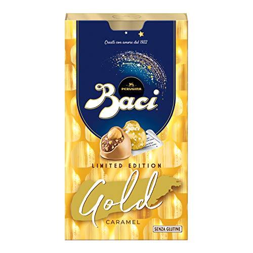 Baci Perugina Gold Caramel Pralina di Cioccolato Bianco, 150g