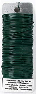 Set of 2 Darice Paddle Wire, 22-Gauge, Green