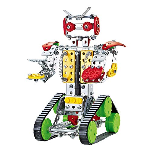 ColorBaby -  Robot mecano metal, 262 piezas Smart Theory (49034)