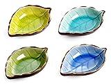 Cisixin 4 Pezzi Ciotole per Salse in Ceramica - Colorato