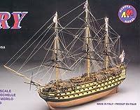 マンチュアモデル 輸入木製帆船模型 マンチュア モデル 720 H.M.S. ビクトリー (小)