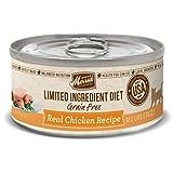 Merrick Limited Ingredient Diet Grain Free Chicken Canned Cat Food, 5 Oz., Case Of 24