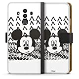 Étui Compatible avec Huawei Mate 10 Pro Étui Folio Étui magnétique Disney Mickey Produit sous...