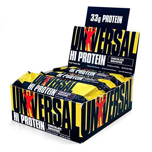 ハイプロテインバー (Hi Protein Bar)ピーナッツ&バター箱/16コ入り海外直送「From USA」