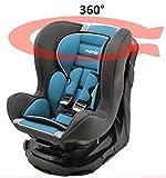 Kinderautositz REVO 360° drehbar und neigbar - gruppen 0+/1-4 farben - Pétrole