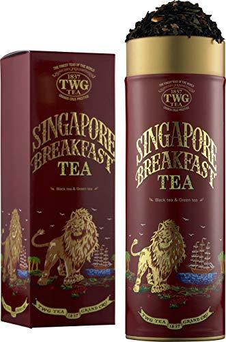 TWG Tea  Singapore Breakfast Tea(オートクチュール缶, 茶葉100g入り)