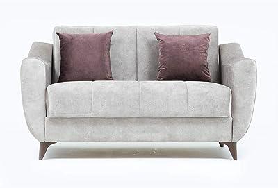 Danube Home King 2 Seater Fabric Sofa - Beige