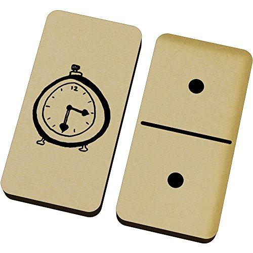 Azeeda 'Uhr' Domino-Spiel und Box (DM00005973)