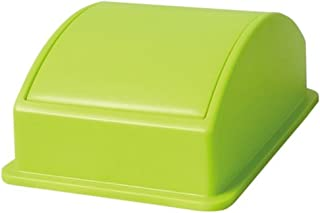 ライクイット(like-it) フタ付きゴミ箱  カフェスタイルダスト蓋スイング  グリーン  日本製 CFS-D02