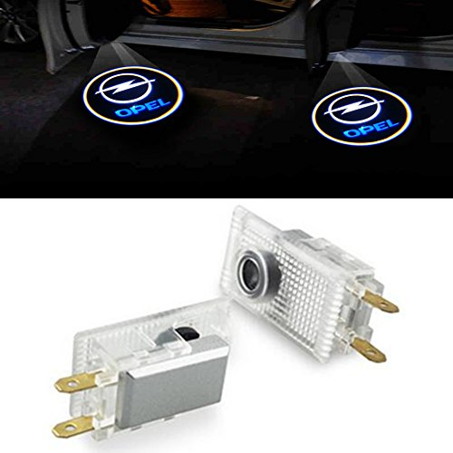 ZNYSTAR 2pcs Car LED Lamp of the Door Lamp Ghost Shadow Welcome Light Kit