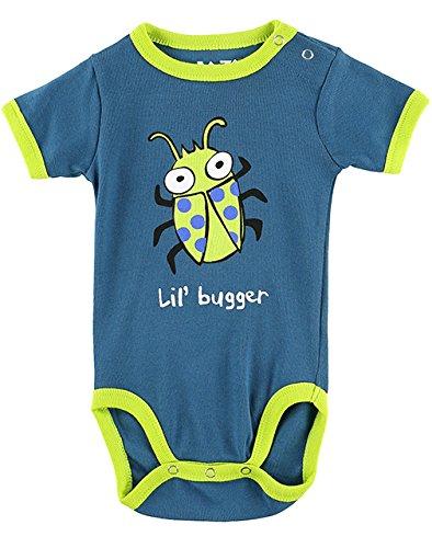 LazyOne Garçon Lil' Bugger Body Bebe Vest 12 Months