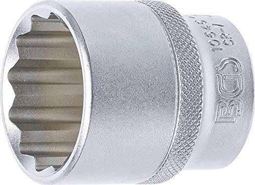 BGS 10646 | Steckschlüssel-Einsatz Zwölfkant | 12,5 mm (1/2