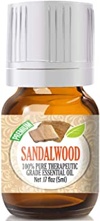 Sandalwood - 100% Pure, Best Therapeutic Grade Essential Oil - 5ml
