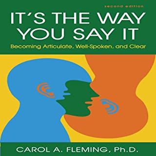 It's the Way You Say It - Second Edition audiobook cover art
