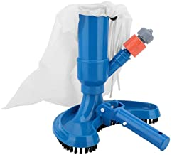 Limpiador de Pisos de Piscinas, Kit de aspiradora para Piscinas - Fuente de Estanque de Piscinas portátil Cepillo de aspiradora Herramienta de Limpieza Aspiradora de Piscinas