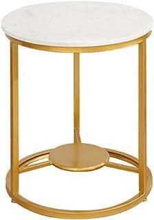 Table d'appoint Table de Chevet Table de bout, Table basse en marbre, Table d'appoint for couloir de maison de chambre à c...
